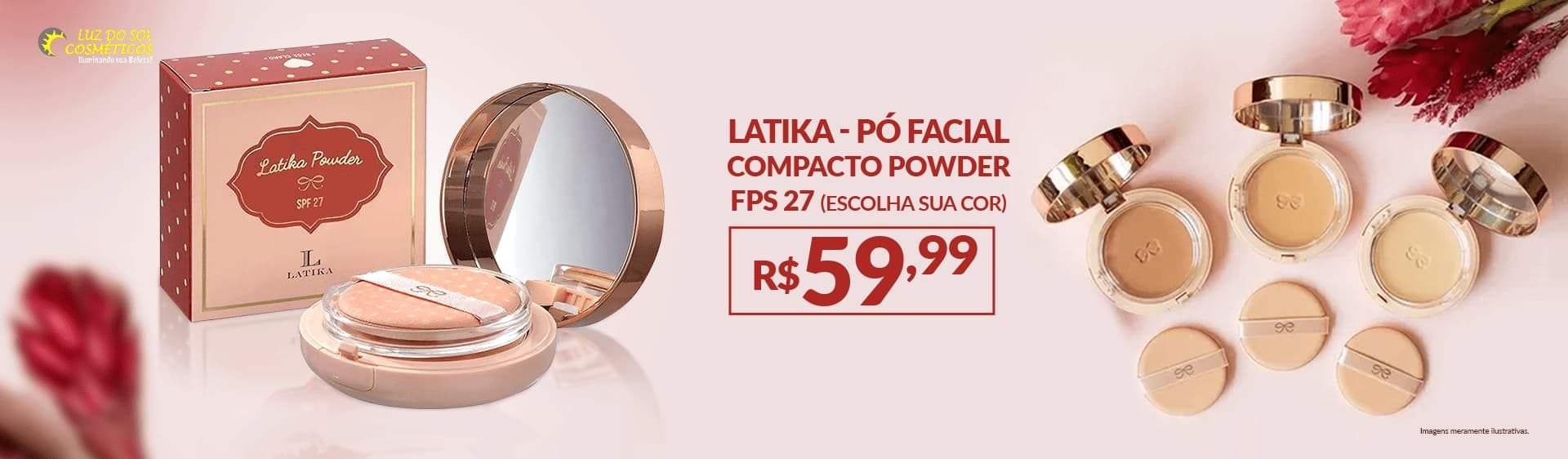 Latika Pó Facial Compacto Powder