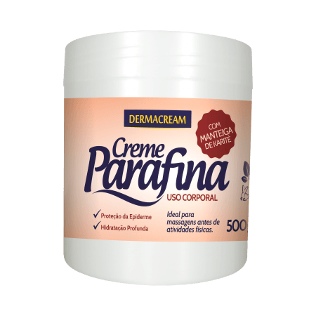 Creme Parafina Dermacream 500g